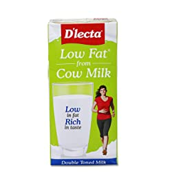 Dlecta Low Fat UHT Milk Jar,  1000 ml