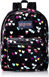 JanSport Unisex High Stakes Black First Love Backpack
