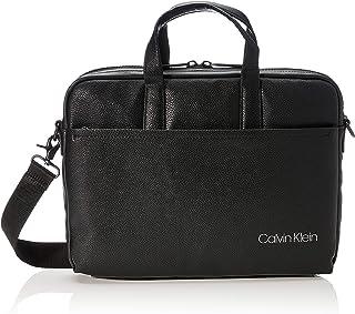 Calvin Klein - Ck Direct Slim Laptop Bag, Organizadores de bolsos Hombre, Negro (Black), 0.1x0.1x0.1 cm (W x H L)