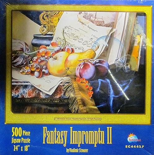 100% autentico Fantasy Impromptu II by Vladimir Stroozer by by by SunsOut  envío rápido en todo el mundo