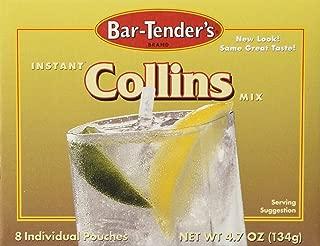 Bar-Tender's Instant Tom Collins Mix, 8 Pouches (4.7 Ounces)