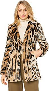 Bardot Women's Animal Fur Coat