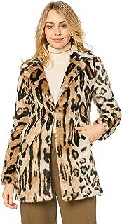 Bardot Women's Animal Fur Coat