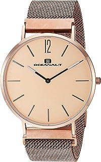 Oceanaut Men's Magnete Analog Quartz Stainless Steel Strap, Rose Gold, 20 Casual Watch (Model: OC0105)