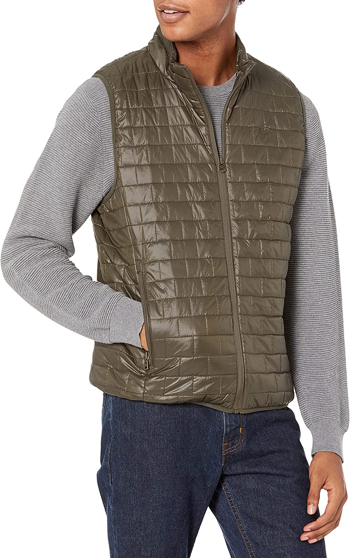 40% Max 73% OFF OFF Cheap Sale DKNY Men's Lightweight Ultra Puffer Vest Loft Quilted
