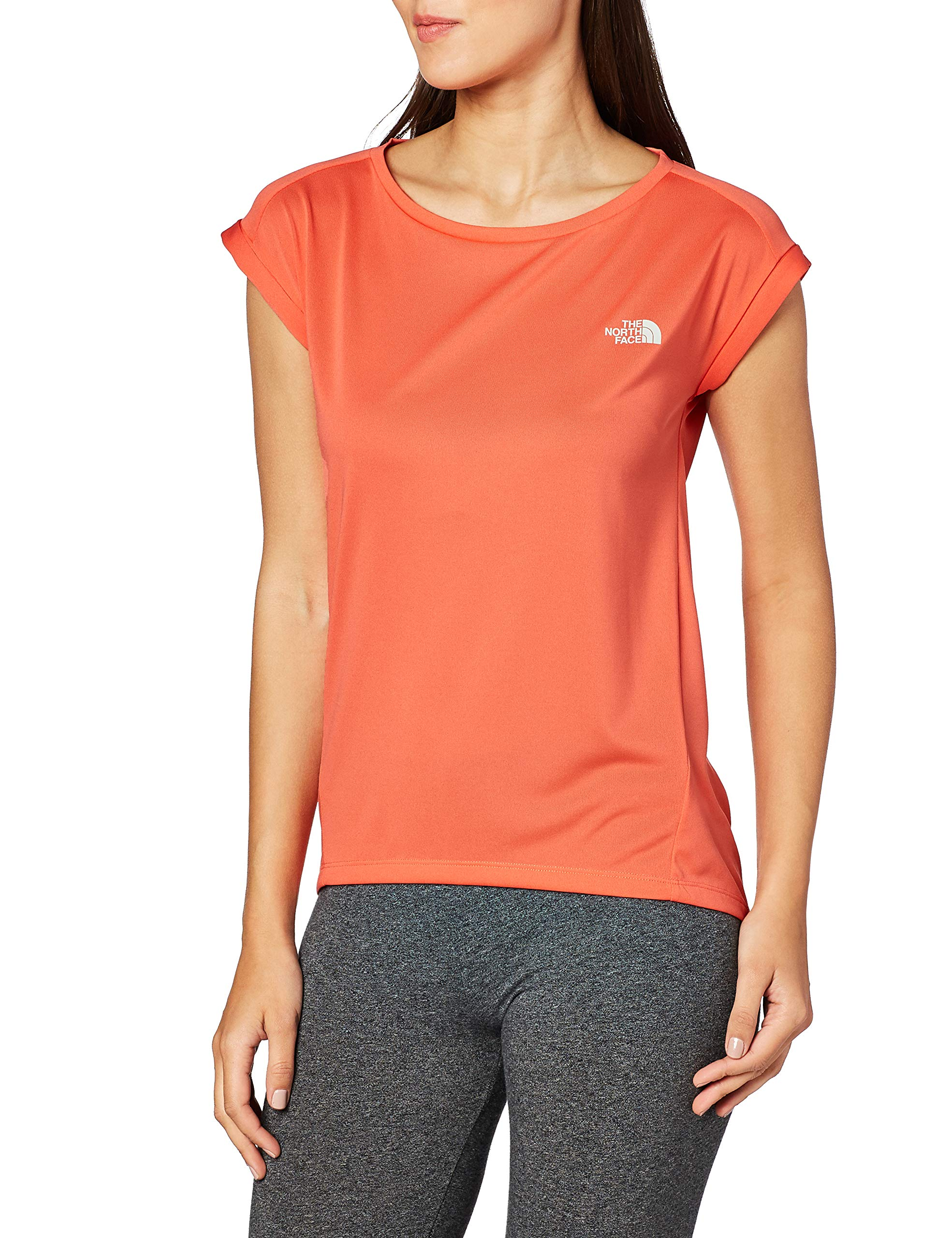 The North Face Tanken Top sin Mangas Mujer, Radiant Orange Talla XS 2019 Camisa sin Mangas: Amazon.es: Deportes y aire libre