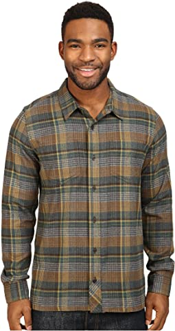 Flannagan Straight Hem Long Sleeve Shirt