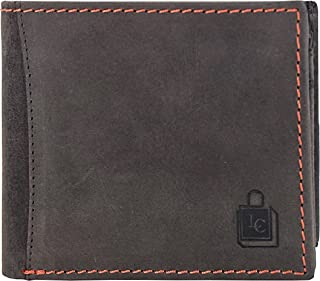 Le Craf Brown Genuine Leather Stylish Mens and Boys Wallet