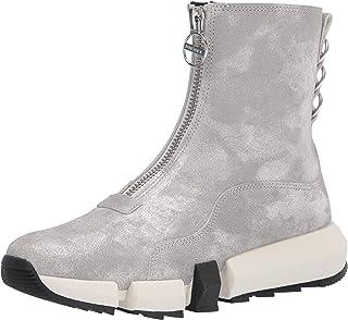 حذاء رياضي هجين للنساء من ديزل، فضي