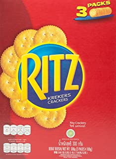 Ritz Crackers Biscuit, Box, 300g