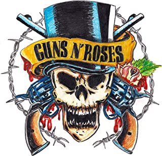Guns N Roses Iron On Transfer for T-Shirts & Other Light Color Fabrics #3