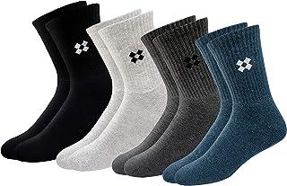 ARKYLE Men's Cotton Socks (Pack of 4)