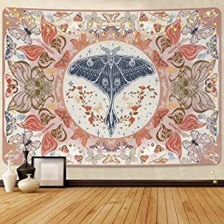 Butterfly Tapestry Vintage Moth Tapestry Insects Flower Tapestry Aesthetic Tapestry Skull Tapestries Trippy Butterflies Ta...