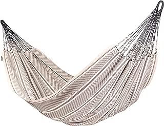 LA SIESTA Flora Zebra - Organic Cotton Kingsize Family Classic Hammock