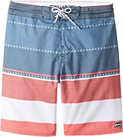 Spinner LT Print Boardshorts (Big Kids)