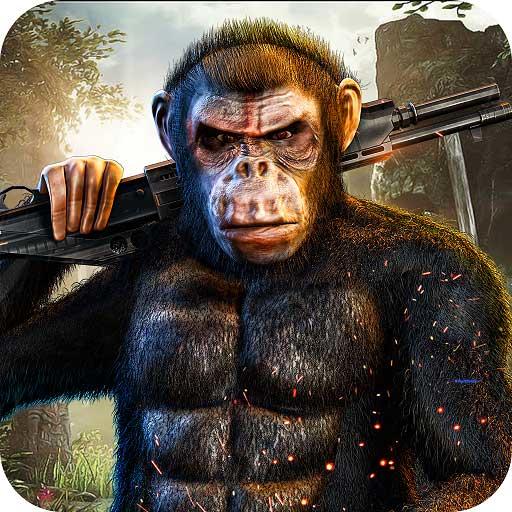 Reglas de Jungle Wild Gorilla City Rampage Juego en 3D: Apes Revenge en Vegas City Gangster Crime Adventure Mission gratis para niños 2018