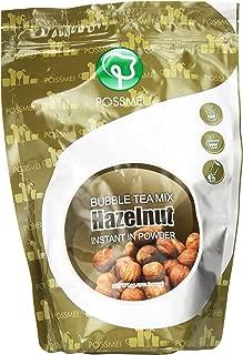 Possmei Bubble Tea Mix Instant Powder, Hazelnut, 2.2 Pound