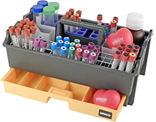 phlebotomy trays with racks