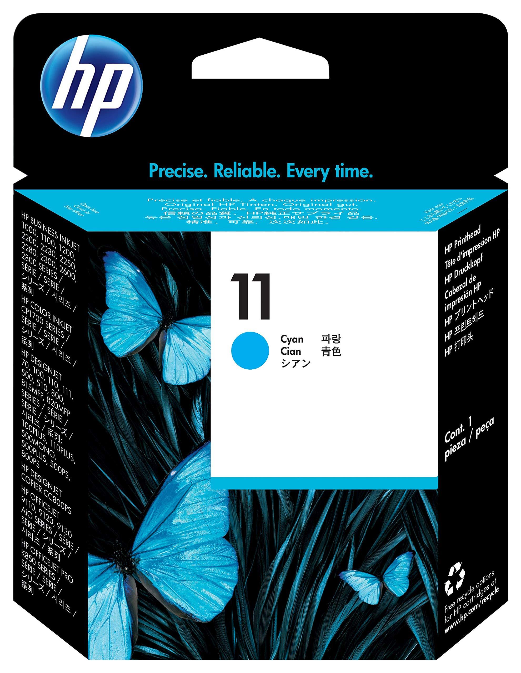 HP C4811A -Cabezal de impresión HP 11, cian: Hp: Amazon.es: Oficina y papelería