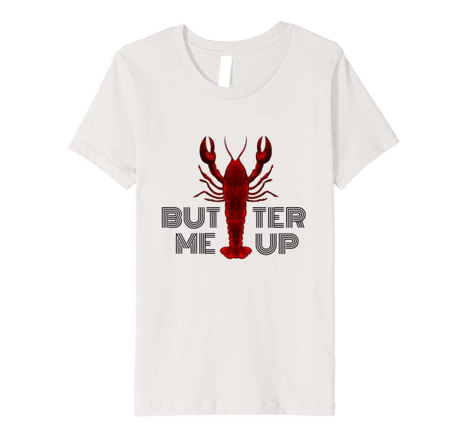 Amazon.com: Butter Me Up-Funny Maine Lobster Pun-Lobstah ...