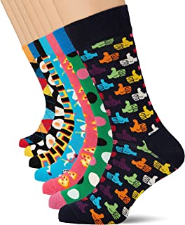 Happy Socks, 7-Day Gift Box, Calcetines para Hombre