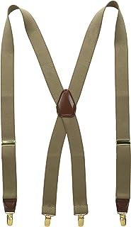 Wembley Men's 32 mm Solid Stretch Suspender