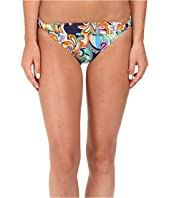 Tommy Bahama - Mare Paisley Shirred-Front Hipster Bikini Bottom