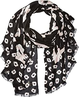 Kate Spade New York - Falling Poppy Oblong Scarf