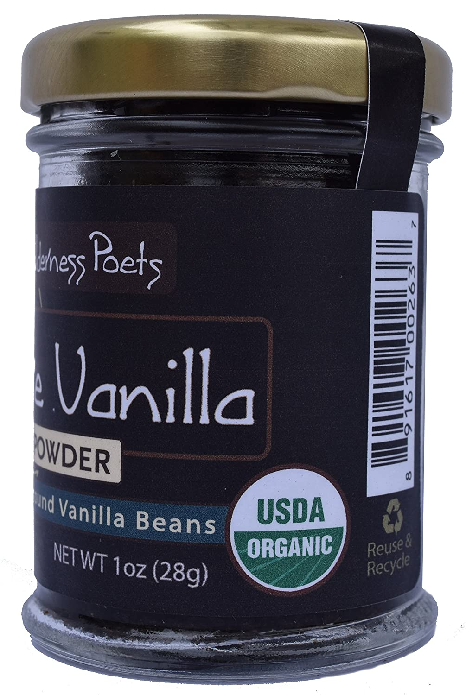 Buy Wilderness Poets Pure Vanilla Powder   Organic Vanilla Bean ...