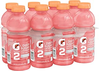 Gatorade Thirst Quencher G2 Low Calorie, Raspberry Lemonade, 20 Fl Oz (Pack Of 8)