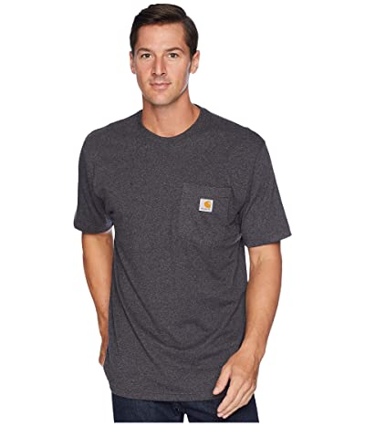 Carhartt Workwear Pocket S/S Tee K87 (Carbon Heather) Men
