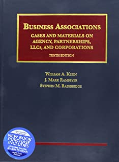 Business Associations, Cases and Materials on Agency, Partnerships, LLCs, and Corporations - CasebookPlus