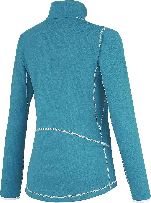 MILLET LD Tech S Top Polo t/érmico para Mujer con Cuello Alto y Cremallera
