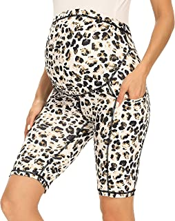 Women's Maternity Over The Belly Active Lounge Comfy Yoga...