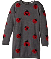 Dolce & Gabbana Kids - Back to School Lady Bug Sweater Dress (Big Kids)