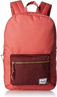 Herschel Settlement Backpack, Mineral Red/Plum, Mid-Volume 17.0L