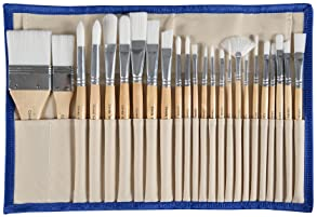 10 Piezas Pincel de Pintura,Set de Pinceles Cepillos de Pintura Profesional Art Multi-Forma Nylon Pincel de Pintura para Acr/ílico Acuarela /Óleo Pincel de Crafts Pintura Artesanal de Roca y Rostro