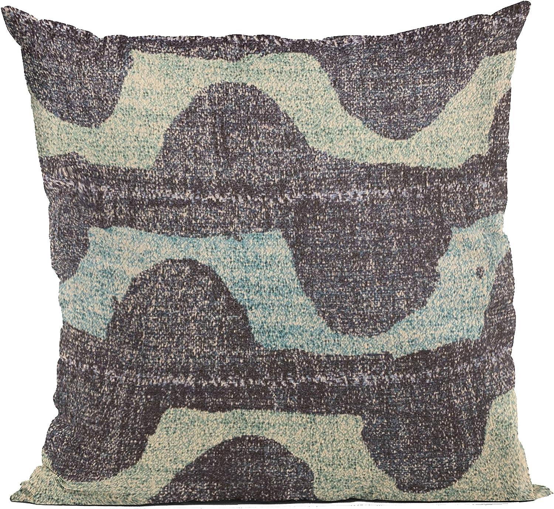 Plutus Max Store 78% OFF Brands Blue Shores Stripe 16 Luxury Throw i Pillow