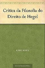 Crítica da Filosofia do Direito de Hegel eBook Kindle
