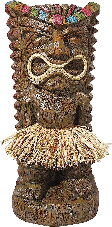 Design Toscano Pau Hana Hawaiian Tiki Two of OFFicial Great interest Statue: Set Totem