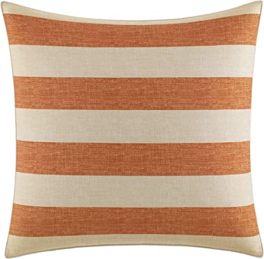 Tommy Bahama Palmiers Euro Sham, European, Dark Orange