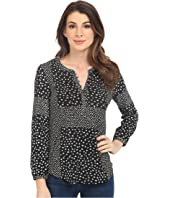 Lucky Brand - Placed Ditsy Print Top