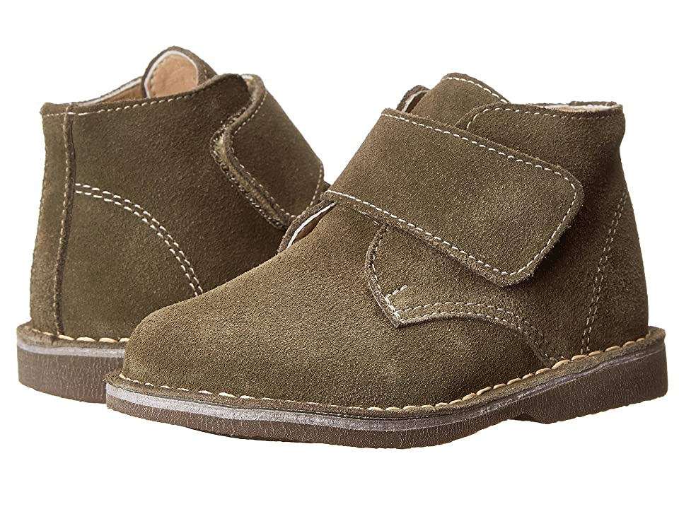 Kid Express Maddox (Toddler/Little Kid/Big Kid) (Olive Green Suede) Boy