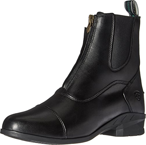 Ariat - Chaussures anglaises Heritage Iv Zip Paddock Femmes, 37.5 W EU, noir