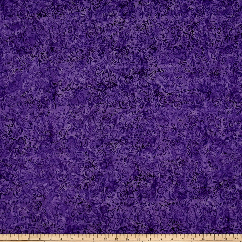 MARBLES 4244 Cotton Island Batik By The Yard Hand-dye Multi Color