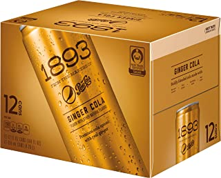 Pepsi-Cola 1893, Ginger,12 Fluid Ounce ( Pack of 12)