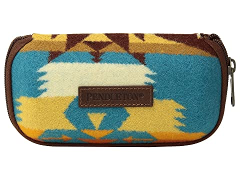 For Nice Perfect Pendleton Glasses Case Tucson Turquoise RWGEqt