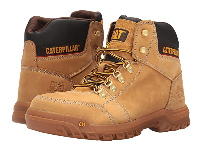 Caterpillar  Outline ST (Honey Reset) Mens Work Lace-up Boots