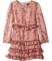 Ditsy Frill Dress (Big Kids)