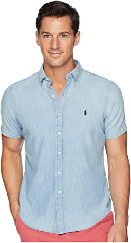 Indigo Chambray Sport Shirt
